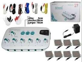 maquina electroestimulador digital, electroacumpuntura,electrodos,terapia dolor rehabilitacion