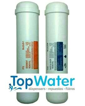 Combo: 2 Filtros de Agua, Conexiones, Instalación Y Sanitización para Dispensadores