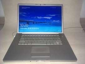 Mac book pro, Intel core 2 duo 2 gb de ram sdd 120gb