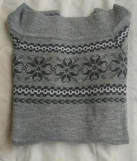 Sweater Lana Manga corta