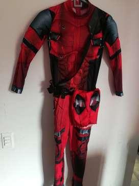 Disfraz Deadpool Talla 12