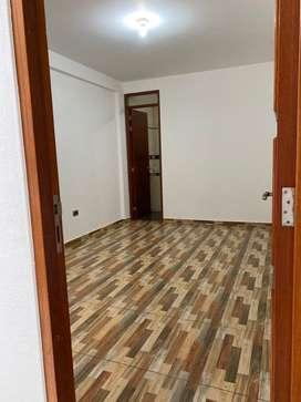Departamaento acogedor, amplio, con habitaciones y baños privados, patio de lavanderia, cocina moderna y sala comedor