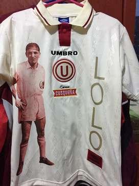 Camiseta UNIVERSITARIO DE DEPORTES  RETRO 97 talla M