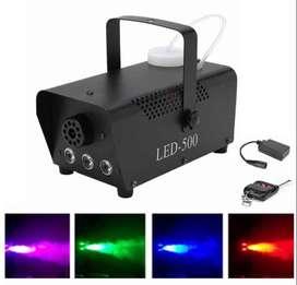 camara de humo con luces LED