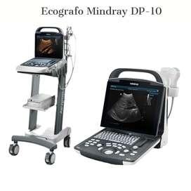 vendo ecografo  mindray dp 10