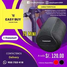 Altavoz o Parlante Bluetooth Tronsmart T6-Mini