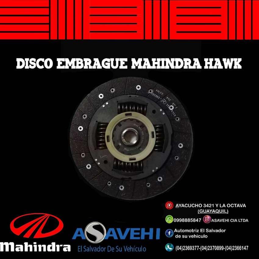 DISCO EMBRAGUE  ORIGINAL MAHINDRA HAWK 2 0