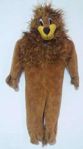 Disfraz de leon talla 4