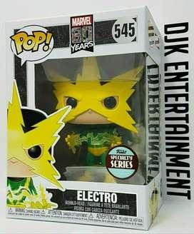 Funko Pop Electro 80 Aniversario Marvel
