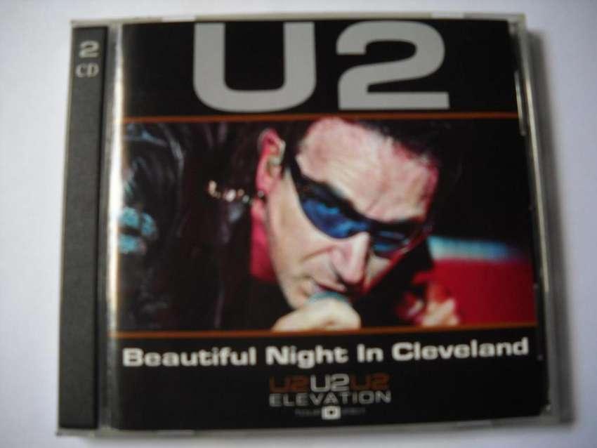 u2 beautiful night in cleveland 2 cd estado aceptable 0