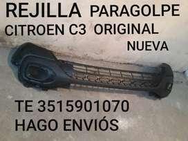 Parte Paragolpe Citroen C3 Original Nuev