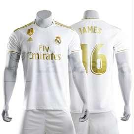 Nueva Camiseta Original Real Madrid 19-20 Hazard James rodriguez futbol