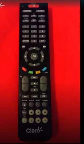 Nuevo control remoto Claro Tv clásico