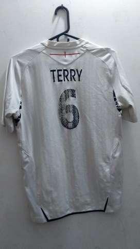 Camiseta Original Inglaterra #6 Terry