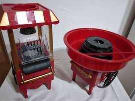 Maquina copos algodon de azucar y Pochoclera