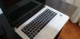 Portátil HP 14- D020LA ( Usado-No funciona la bateria)