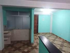 Alquilo departamento a 5 cuadras al centro de la ciudad cuenta con 2 dormitorios 1 bñ  sala cocina lavandería  a estrena