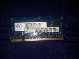 Memoria RAM Notebook