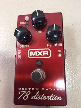 Pedal de distorsión para guitarra MRX M78 Custom Badass Distortion