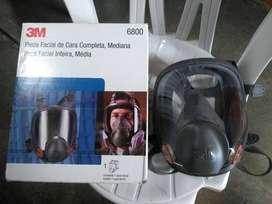 Respirador facial completa 3M