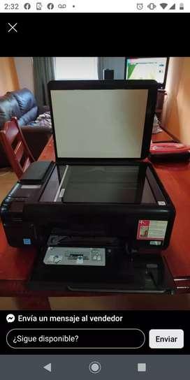 Impresora HP fotocopiadora y escaneadora
