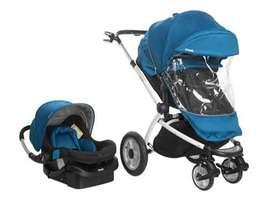 Coche de bebé + silla para auto con base Infanti Epic 360