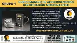 1 - grupo - CURSO MANEJO DE ALCOHOSENSORES - CERTIFICACIÓN MEDICINA LEGAL