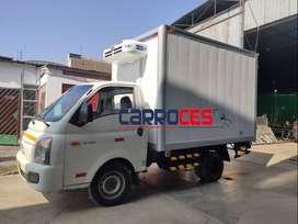 Venta y fabricación de furgón isotérmico para cualquier tipo de camión.