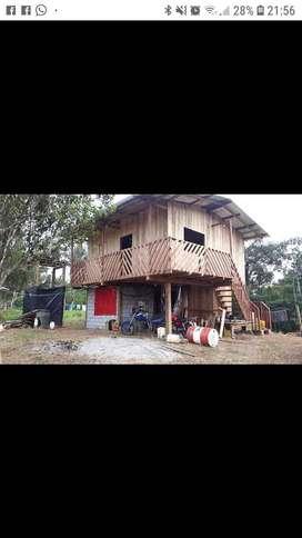 Vendo finca de 32.6 hectáreas o cambio con terreno en Quevedo o vehículo en Quininde