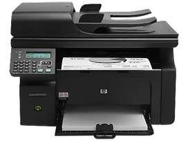 Impresora hp laserjet m1212nf mfpfp - Blanco y negro