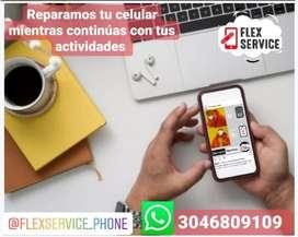 Servicio técnico a domicilio para celulares y tablets.