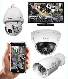 Instalación de cámaras de seguridad en mantenimiento general