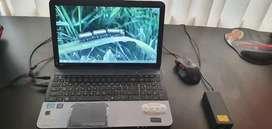 Vendo mi laptop toshiba corei7