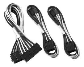Kit De Cables Mallado:1x 24 Pin- 2x Pci-e 6+2- 1x Eps 4+4