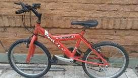 Vendo bicicleta usada MTB  BULL XT SKILL