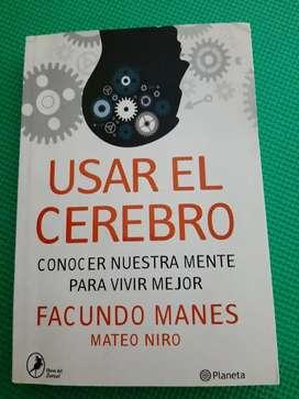 Vendo. Libro Facundo Manes