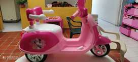 Moto electrica Minnie mouse