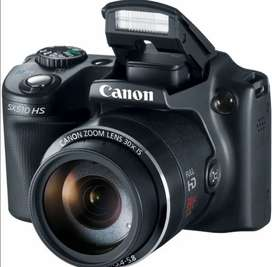Se vende Cámara semiprofesional Canon sx510 HS