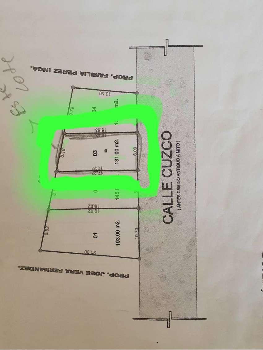 Ocasión se vende un terreno excelente ubicación en Orcotuna -la Huaycha 0