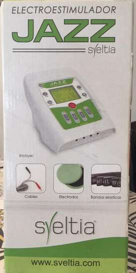 Electroestimulador Sveltia 8 canales (usado,poco uso)