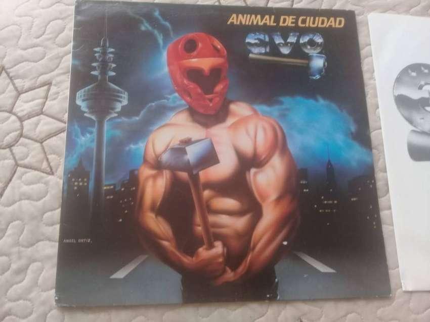 """VINIL EVO """"ANIMAL DE CIUDAD"""", EDICION ESPANOLA 1983. PERFECTO ESTADO"""
