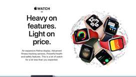 Apple Watch SE -40MM-NUEVOS-ORIGINALES-SELLADOS