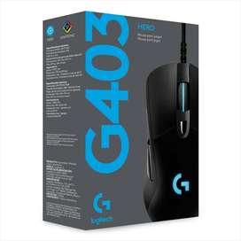Mouse Logitech G403 Hero 16k Lightsync En Stock