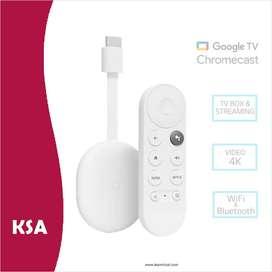 Chromecast 4 Google TV Google - Streaming 4K HDR