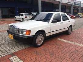 Mercedes Benz 190 E automatico modelo 1985, 1.9 cc, admirelo!