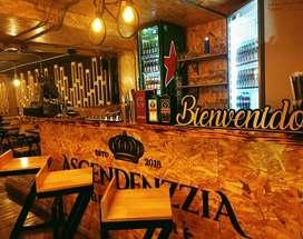 Restaurante en cabañas amplio y excelente ubicación
