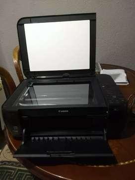 Vendo impresora de marca canon multifunctional modelo  495