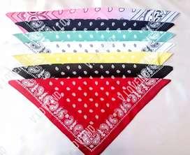 Pañuelos  bandana
