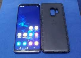 Samsung S9 (gama alta) c/cargador original, 64 GB, 4 GB RAM