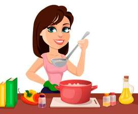 cocinero/a para mediodía de lunes a viernes